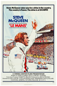 """Le Mans (National General, 1971). One Sheet (27"""" X 41"""") & Pressbook (18 Pages, 8.5"""" X 14"""")..."""