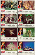 """Movie Posters:Science Fiction, Barbarella (Paramount, 1968). Lobby Card Set of 8 (11"""" X 14"""") &Herald (8"""" X 11""""). Science Fiction.. ... (Total: 9 Items)"""
