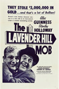 """Movie Posters:Comedy, The Lavender Hill Mob (Continental, 1951). One Sheet (27"""" X 41"""").. ..."""