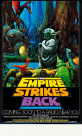 "Movie Posters:Science Fiction, The Empire Strikes Back (National Public Radio, 1982). NPR Poster(17"" X 28"").. ..."