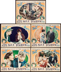 "Movie Posters:Comedy, They Had to See Paris (Fox, 1929). Lobby Cards (5) (11"" X 14"")..... (Total: 5 Items)"