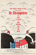 "Movie Posters:Comedy, Dr. Strangelove or: How I Learned to Stop Worrying and Love theBomb (Columbia, 1964). Poster (40"" X 60"").. ..."