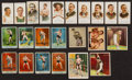 """Boxing Cards:General, 1880's-1950's """"T"""" """"N"""" Mostly Boxing Card Collection (23) With N28sand N79. ..."""