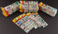 Baseball Cards:Unopened Packs/Display Boxes, 1981 Topps Baseball Rack Pack Collection (71). ...