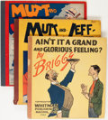 Platinum Age (1897-1937):Miscellaneous, Mutt and Jeff Plus Group (Cupples & Leon/Whitman, 1919-22)....(Total: 3 Items)