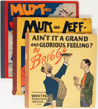 Mutt and Jeff Plus Group (Cupples & Leon/Whitman, 1919-22).... (Total: 3 Items)