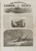 Miscellaneous:Newspaper, [Newspaper]. The Illustrated London News, May 11, 1861.Disbound from larger volume. Measures 11.25 x 16 inches. Som...