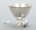 Silver Flatware, American:Tiffany, AN AMERICAN SILVER GRAVY BOWL AND CREAM LADLE, Tiffany & Co.,New York, New York, circa 1921-1922. Marks to bowl: TIFFANY ...(Total: 2 Items)