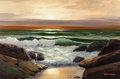 Paintings, ROBERT WILLIAM WOOD (American, 1889-1979). Dark Sunset, circa 1972. Oil on canvas. 24 x 36 inches (61.0 x 91.4 cm). Sign...