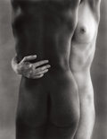Photographs:20th Century, RUTH BERNHARD (American, 1905-2006). Two Forms, 1963.Gelatin silver, printed later. 13-3/8 x 10-1/2 inches (34.0 x26.7...