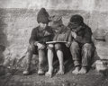 Photographs:20th Century, ANDRÉ KERTÉSZ (HUNGARIAN, 1894-1985). Untitled (ChildrenReading), 1915. Gelatin silver. 7-3/4 x 9-3/4 inches (19.7 x24...