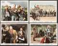 """Movie Posters:Western, She Wore a Yellow Ribbon (RKO, 1949). Color-Glos Photos (4) (8"""" X 10""""). Western.. ... (Total: 4 Items)"""