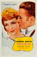 "Movie Posters:Comedy, Tovarich (Warner Brothers, 1937). One Sheet (27"" X 41""). Comedy.. ..."