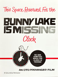 """Bunny Lake is Missing (Columbia, 1965). Poster (30"""" X 40"""")"""