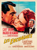 "Movie Posters:Hitchcock, Notorious (MGM, R-1958). French Grande (47"" X 62.75"").. ..."