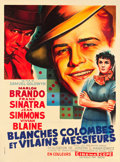 """Movie Posters:Musical, Guys and Dolls (MGM, 1957). French Grande (46.25"""" X 62.25"""").. ..."""