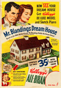 "Movie Posters:Comedy, Mr. Blandings Builds His Dream House (Kellogg Company, 1948).Advertising Poster (14"" X 20"").. ..."