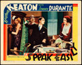 "Movie Posters:Comedy, Speak Easily (MGM, 1932). Lobby Card (11"" X 14"").. ..."