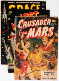 Golden Age Sci-Fi Comics Group (Various Publishers, 1940s-50s) Condition: Average VG.... (Total: 9 Comic Books)