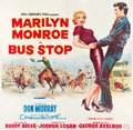 "Movie Posters:Drama, Bus Stop (20th Century Fox, 1956). Six Sheet (77.5"" X 80.5"").. ..."