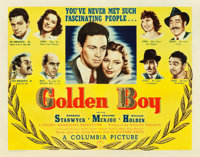 "Golden Boy (Columbia, 1939). Half Sheet (22"" X 28"")"