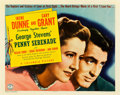 "Movie Posters:Drama, Penny Serenade (Columbia, 1941). Half Sheet (22"" X 28"") Style A.. ..."
