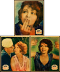 "Movie Posters:Comedy, The Fleet's In (Paramount, 1928). Jumbo Lobby Cards (7) (14"" X17"").. ... (Total: 7 Items)"