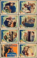 "Movie Posters:Horror, The Haunted House (First National, 1928). Lobby Card Set of 8 (11""X 14"").. ... (Total: 8 Items)"