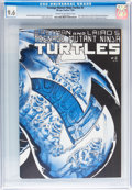 Modern Age (1980-Present):Humor, Teenage Mutant Ninja Turtles #2 (Mirage Studios, 1984) CGC NM+ 9.6Cream to off-white pages....