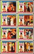 "Movie Posters:Romance, Breakfast at Tiffany's (Paramount, 1961). Lobby Card Set of 8 (11""X 14"").. ... (Total: 9 Items)"