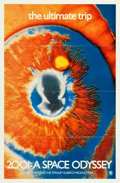 "Movie Posters:Science Fiction, 2001: A Space Odyssey (MGM, 1969). Psychedelic Eye One Sheet (27"" X 41"").. ..."