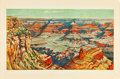 """Movie Posters:Miscellaneous, Grand Canyon Travel Poster (The Graphic Arts Guide, 1927). Poster (25"""" X 38.25"""").. ..."""