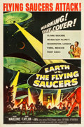 "Movie Posters:Science Fiction, Earth vs. the Flying Saucers (Columbia, 1956). One Sheet (27.25"" X41"").. ..."