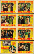"Movie Posters:Comedy, The Women (MGM, 1939). Lobby Card Set of 8 + (2) Reissue Cards (11""X 14"").. ... (Total: 10 Items)"