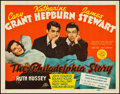 "Movie Posters:Comedy, The Philadelphia Story (MGM, 1940). Title Lobby Card (11"" X 14"")....."
