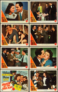 "Movie Posters:Mystery, Shadow of the Thin Man (MGM, 1941). Lobby Card Set of 8 (11"" X14"").. ... (Total: 8 Items)"