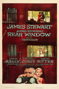 "Movie Posters:Hitchcock, Rear Window (Paramount, 1954). One Sheet (27.25"" X 41"").. ..."