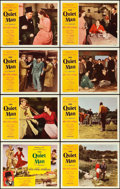 "Movie Posters:Drama, The Quiet Man (Republic, 1952). Lobby Card Set of 8 (11"" X 14"")..... (Total: 8 Items)"