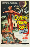 "Movie Posters:Science Fiction, Queen of Outer Space (Allied Artists, 1958). One Sheet (27"" X41"").. ..."