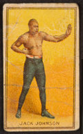 Boxing Cards:General, 1910 E-Unc Candy Jack Johnson. ...