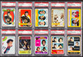 Hockey Cards:Lots, 1971 - 1978 Topps & O-Pee-Chee Phil Esposito PSA Collection(10). ...