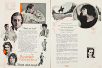 "Paramount Exhibitor Books (Paramount, 1922 & 1923-1924). Exhibitor Books (2) (Multiple Pages, 6.5"" X 9""..."