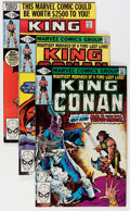 Modern Age (1980-Present):Science Fiction, King Conan #1-52 Near-Complete Run Group (Marvel, 1980-89)Condition: Average NM.... (Total: 51 Comic Books)