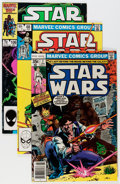 Modern Age (1980-Present):Science Fiction, Star Wars Group (Marvel, 1978-86) Condition: Average VF/NM....(Total: 105 Comic Books)