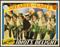 """Movie Posters:Comedy, Idiot's Delight (MGM, 1939). Lobby Card (11"""" X 14""""). Comedy.. ..."""