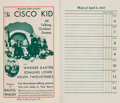 """Movie Posters:Miscellaneous, Fox Studio Date Book (Fox, 1929-1930). Date Book (Multiple Pages, 4.5"""" X 7.75"""").. ..."""