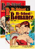 Golden Age (1938-1955):Romance, Hi-School Romance File Copy Group (Harvey, 1950-58) Condition:Average VF.... (Total: 77 Comic Books)