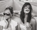 Photographs, MICHAEL DWECK (American, 20th Century). Giselle and Rachel onthe Malecon, from the Habana Libre series, 2010. Gelatin s...