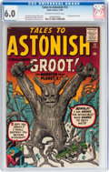 Silver Age (1956-1969):Science Fiction, Tales to Astonish #13 (Marvel, 1960) CGC FN 6.0 Off-white to whitepages....