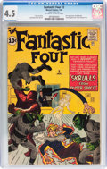 Silver Age (1956-1969):Superhero, Fantastic Four #2 (Marvel, 1962) CGC VG+ 4.5 Off-white to whitepages....